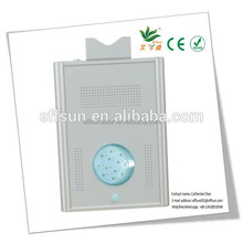 High quality stable integrated solar Garden light 12W