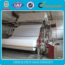 High performance stainless toilet tissue paper machine steel from DingChen machinery