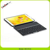 2015 Ultra thin Aluminum Wireless Bluetooth Keyboard Cover Case For iPad Air For iPad 5, cover case for ip5, Ultra thin Keyboard