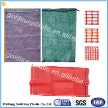 New PP tubular mesh bag,leno mesh bag,raschel mesh bag for packing
