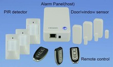 Shenzhen Finseen Cloud IP home alarm with automatic low voltage alert