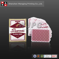 High Quality Custom Printed Paper Playing cards with Tin Box