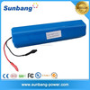 high quality 3S6p 12v rechargeable lithium battery for flashlight led torch with samsung 18650 cells