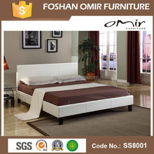 SS8001 Slat Bed Stand Wooden Big Sex Bed