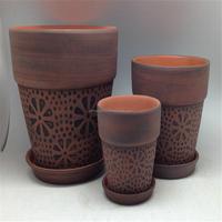 clay flower pots wholesale
