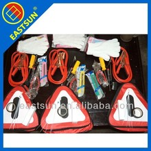 Hot sale Auto Roadside Emergency Safety kit With Flash light