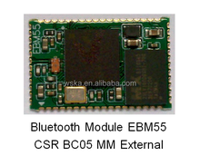 Bluetooth module EBM55 Good quality audio transmit bluetooth low energy moduleSmart bes Wireless Bluetooth serial transmission m