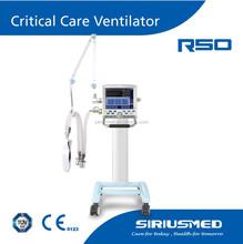 CE approved Siriusmed ICU medical ventilator