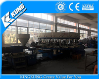 New products for used PVC dip shoes making machine ( KINGKUNG brand )