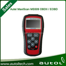 New Autel MaxiScan MS509 OBDII / EOBD Auto Code Reader Fit For US&Asian & European Vehicles MS 509 DHL Fast shipping
