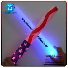 4.5*40cm CE and RoHS Certificate Stock led flashing foam glow wand