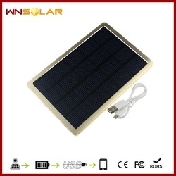 China High Quality 10000mah solar panel charger, solar mobile phone charger