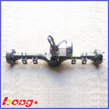 differential gear motor golf cart rear axle, rear axle for tricycle