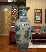 90cm big floor vase for home decoration