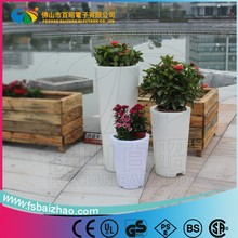Promotion CE&RoHs professional waterproof led flower pot/led flower light for party/garden/home decoration