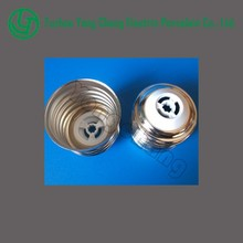 Nickel-brass no-welding type PBT E39 lamp base lamp cap