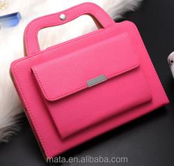 2016 Handbag Mini PU Leather Case For Ipad