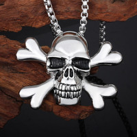 unique stainless steel skull necklace pendant direct buy china