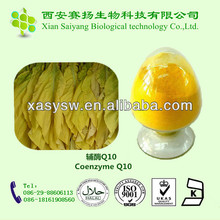 Factory Supply Coenzyme Q10 Powder q10 coenzyme /coenzyme q10 softgel 500mg