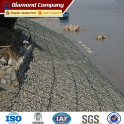 2015 anping hexagonal mesh gabion box / hexagonal gabion wire mesh
