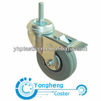rubber 3 inch caster wheels