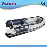 2014 New Design Promotion PVC hull 270cm speed boat fishing boat