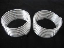Rohs quality helical quartz glass tube for heater