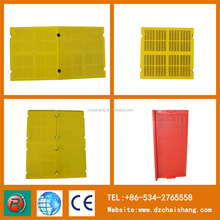 low price polyurethane mine sieving for mining separating