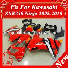 Fairings Kits for Kawasaki Ninja 250R EX 250 2008 2009 2010 2011 EX250 ZX250R 08 09 10 11 ABS Plastic Motorcycle Fairings Red