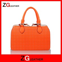 2015 new products leather bag manufacture in india