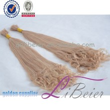 wholesale alibaba human hair 100% unprocessed human hair extensions blond girls party hair
