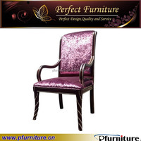 luxurious farbric antique armchair for hotel room PFC15108