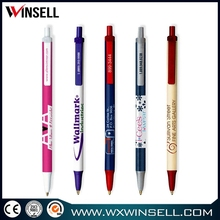 Hot selling stylish plastic grip ball point pen