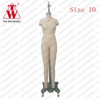 Lady germany standard fiberglass sewing fashion manikins for sale