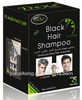 Best way to dye the white hair to black by black hair shampoo