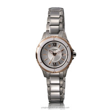 Exquisite classic waterproof 5ATM stainless steel lady watches