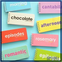 IN STOCK custom cute sticky notes Advertising Good Quality High Class Hard cover combination fancy non-sticky notes