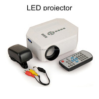 Portable 640x480 Video led digital Projector With Remote Controller