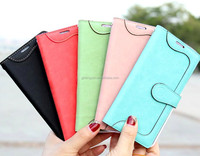 Wholesale cheap price pu leather customized mobile phone case cover for note 4