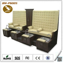 Stational pedicure spa massage & chair pedicure benches for nail supplies