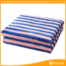 Excellent material Polyester Colorful life comfort fleece blanket