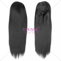 Beautiful supply brazilian remy human hair ponytail