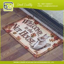 Personalized Global Hot Sales Fashion Garden Animal Print Floor Mat