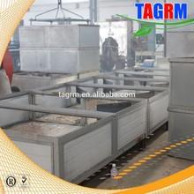 Alta productividad máquina para secar el vegetales y alimentos yuca máquina de secado