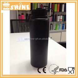40oz Matte Black Insulated Stainless Steel Water Bottle