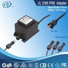 Outdoor transformer IP68 230V AC to 12V AC