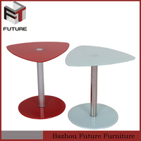 glass round center table side tables for living room