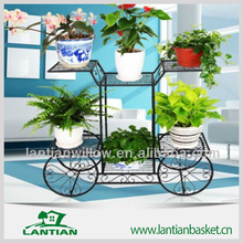 Chinese factory cheap price flower pot rack hot sale iron flower pot stand