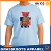 Bulk sale cheap election t shirt for promotion/wholesale printing polyester election campaign t-shirt