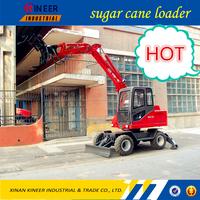 bell loader / sugar cane grabbing machine / cheap mini excavator WLY70